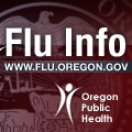 Get more info about the Flu in Oregon at flu.oregon.gov