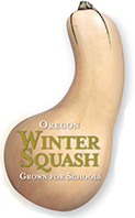 Oregon Harvest for Schools-Winter Squash