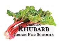 Oregon Harvest for Schools-Rhubarb