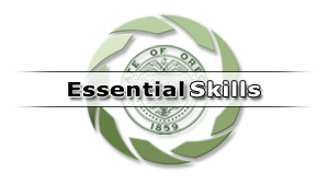 Oregon's Essential Skills